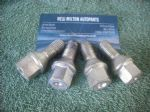 4 X GENUINE VAUXHALL ASTRA  G AND H     CORSA C  STEEL WHEEL BOLT